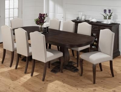 Best Selection Dining Tables In Ga | Horizon Home | Outlet Prices With Dark Dining Room Tables (Image 4 of 25)