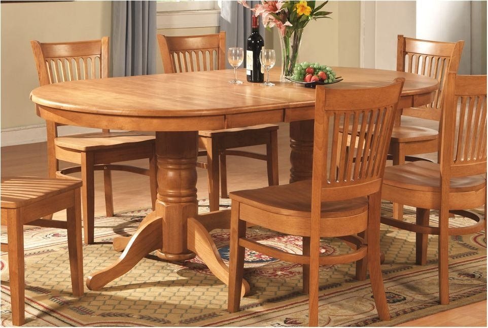 Best Solid Oak Dining Table And Chairs – Dining Room Paint Colors Inside Oak Furniture Dining Sets (View 16 of 25)