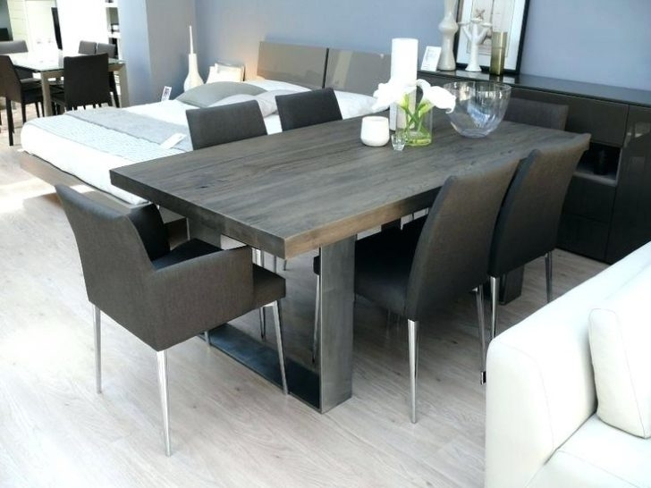 Best Solid Wood Dining Table Unique Tables Room Sets Amazing Cool T In Dark Solid Wood Dining Tables (Image 5 of 25)