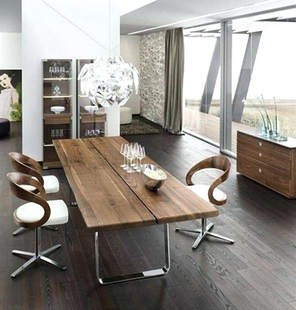 Best Wood For Dining Table – Pizzaitaliana For Non Wood Dining Tables (Image 2 of 25)