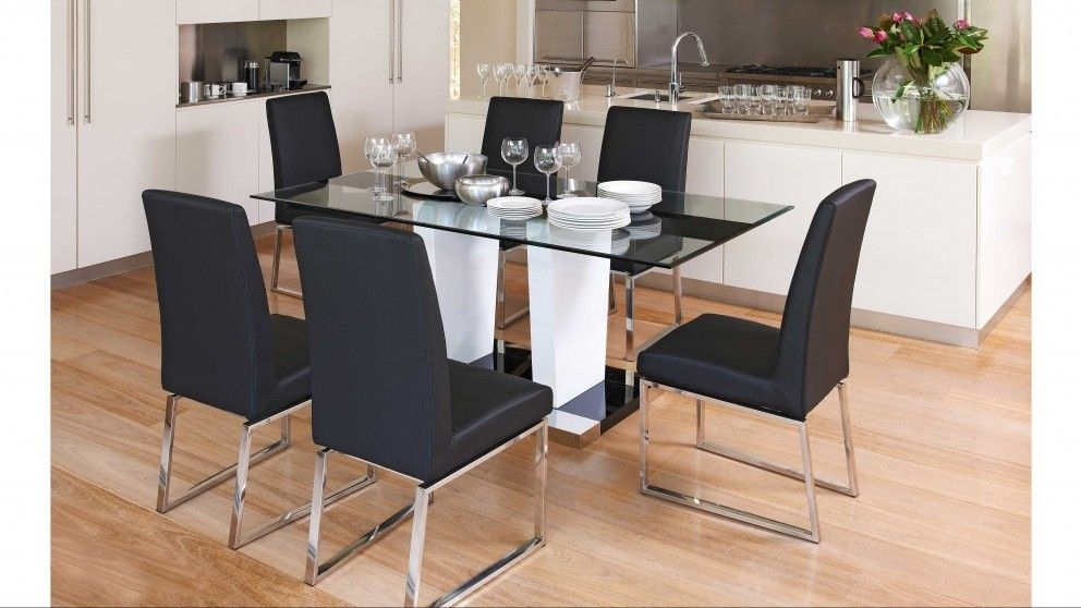 Beta 7 Piece Dining Setting – Dining Furniture | Harvey Norman With Regard To Wyatt 7 Piece Dining Sets With Celler Teal Chairs (Image 11 of 25)