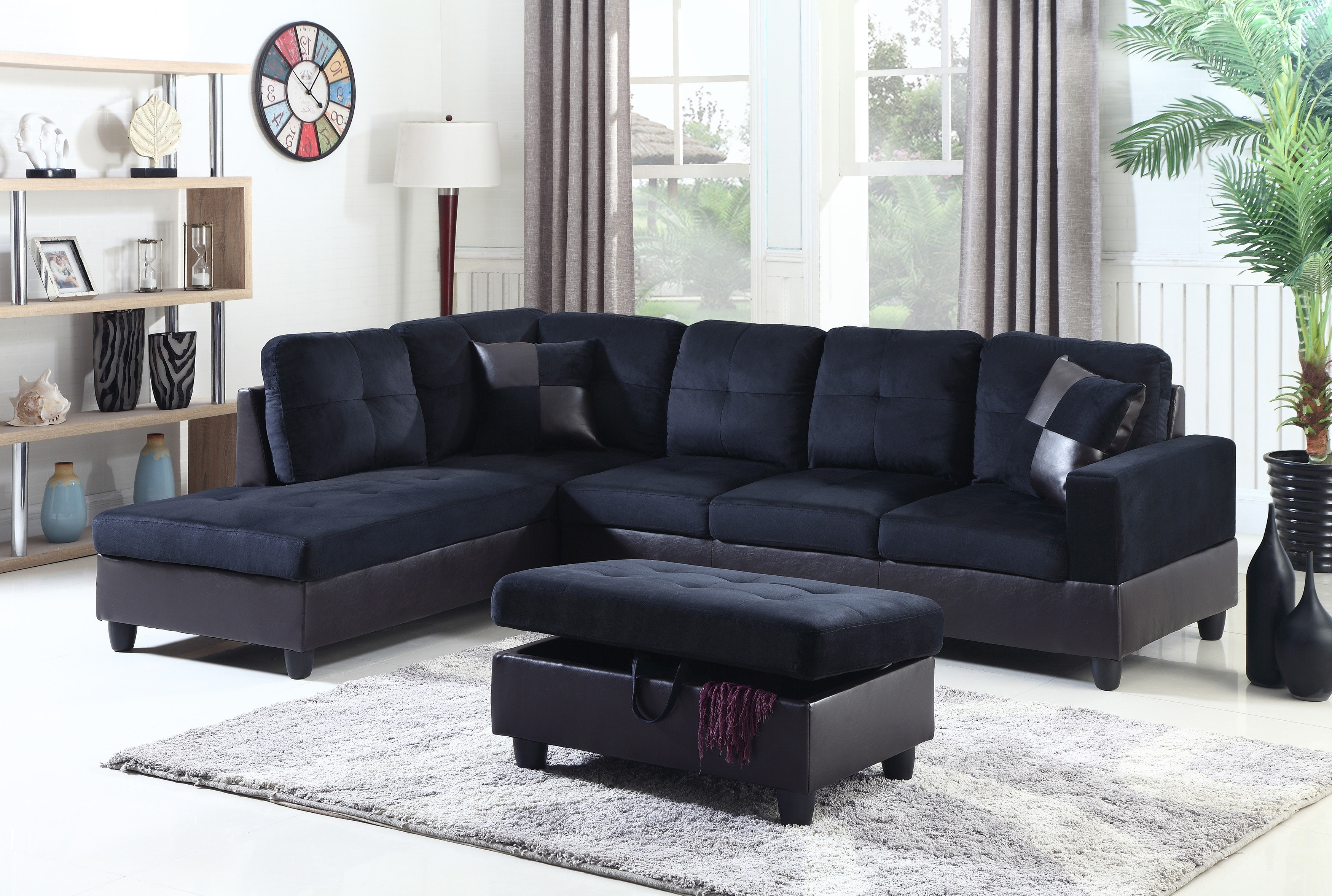 Beverly Fine Furniture Aiden Sectional | Wayfair Inside Aidan 4 Piece Sectionals (View 15 of 25)