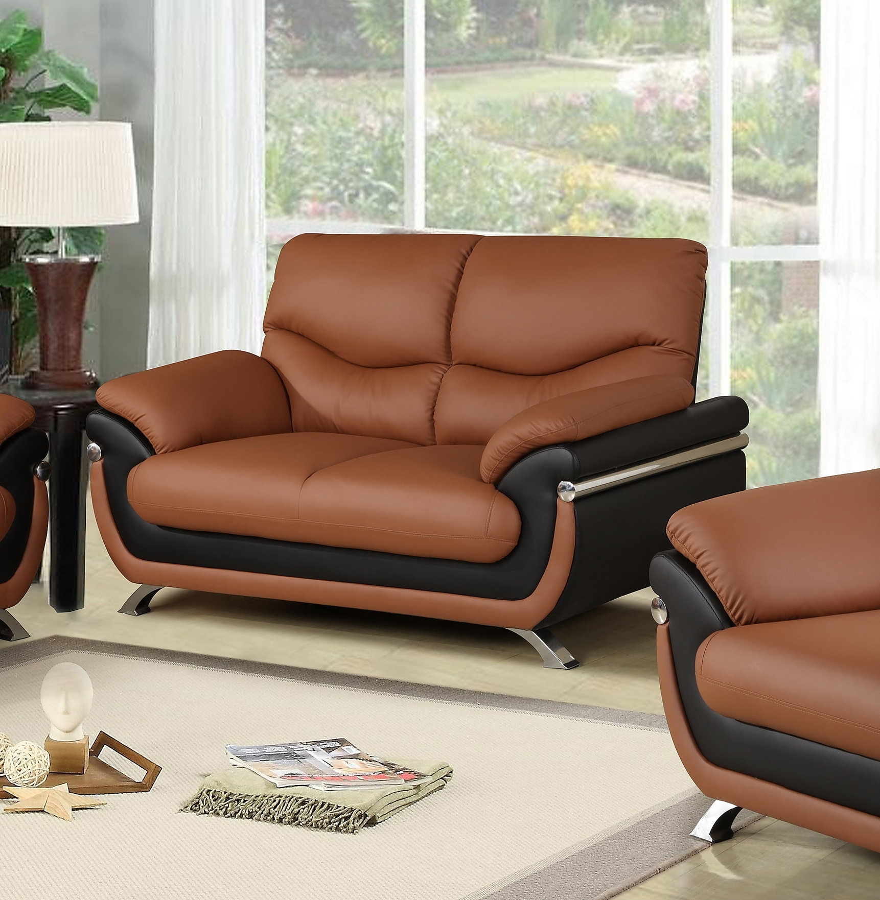 Beverly Fine Furniture | Wayfair With Declan 3 Piece Power Reclining Sectionals With Right Facing Console Loveseat (Image 4 of 25)