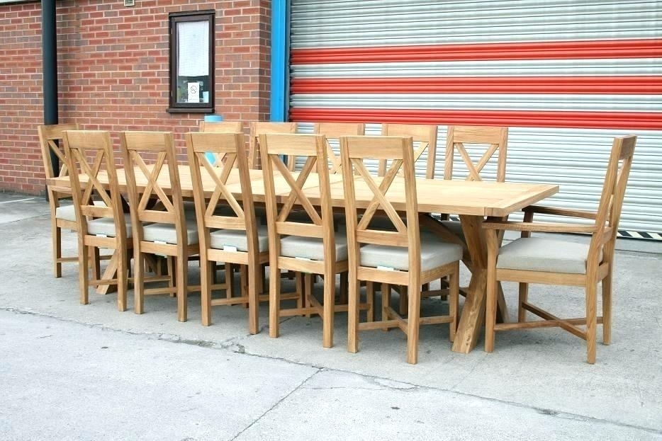 Big Dining Tables – Bunu With Regard To Big Dining Tables For Sale (View 16 of 25)