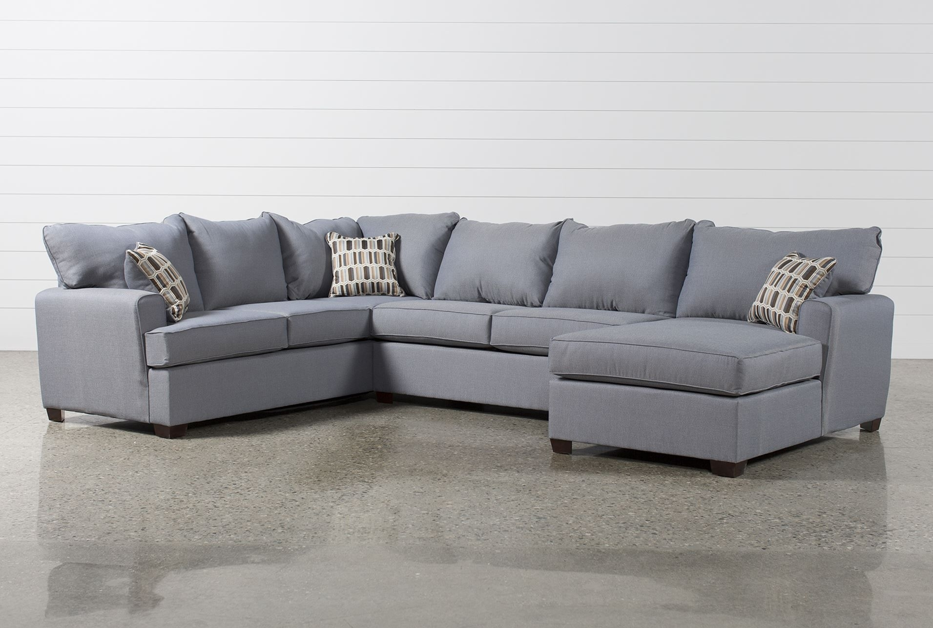 Bingham 3 Piece Sectional W/raf Chaise – Signature | For The Home In Mcdade Graphite 2 Piece Sectionals With Raf Chaise (Image 6 of 25)