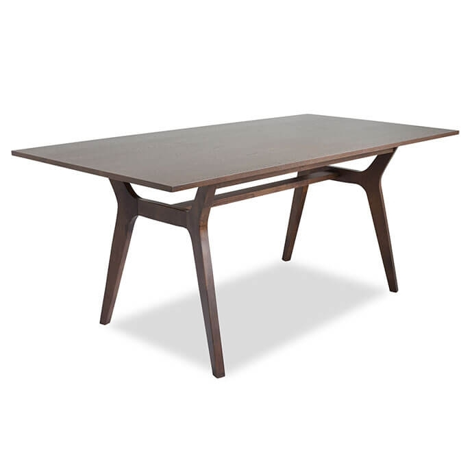 Birch Mid Century Modern Dining Table With Birch Dining Tables (View 7 of 25)