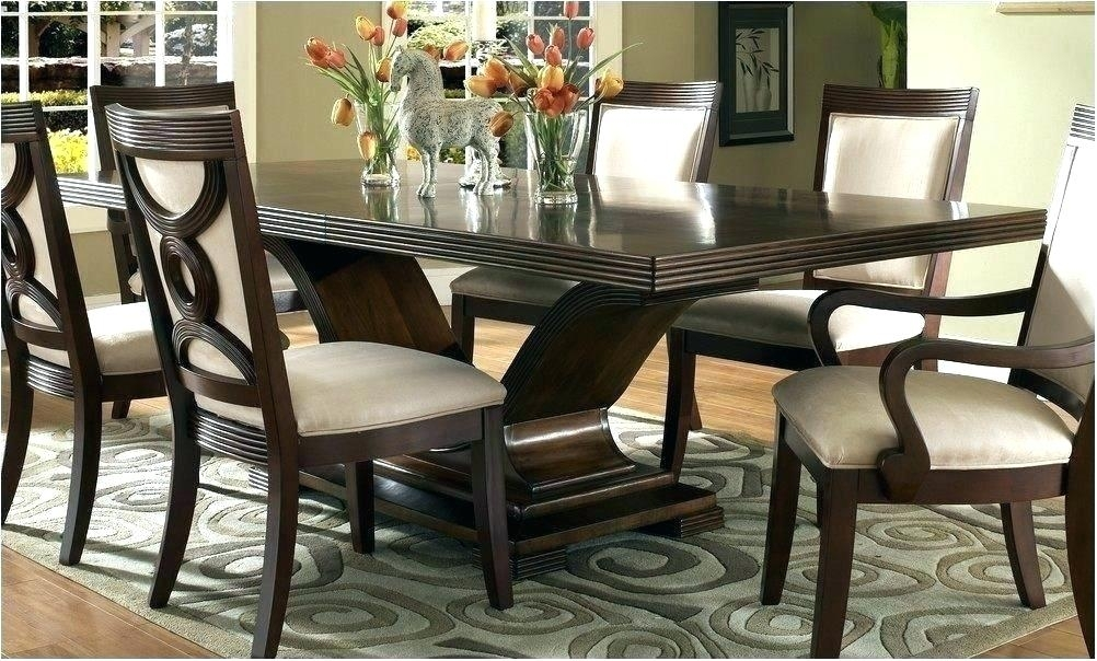 Black And Brown Dining Room Table – Pizzaitaliana For Dark Brown Wood Dining Tables (Image 5 of 25)