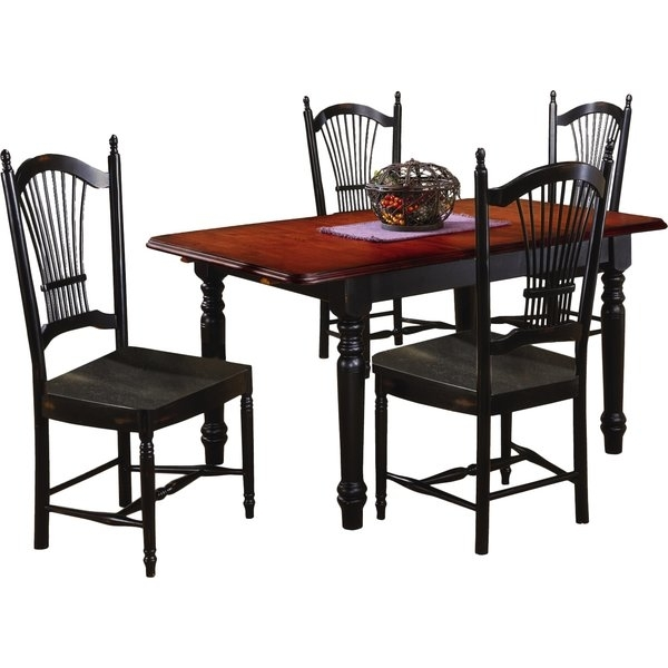 Black Butterfly Dining Table | Wayfair (View 24 of 25)