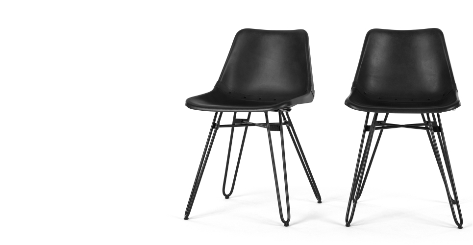 Black Dining Chairs For Comfortable Eating – Darbylanefurniture Throughout Black Dining Chairs (Image 3 of 25)