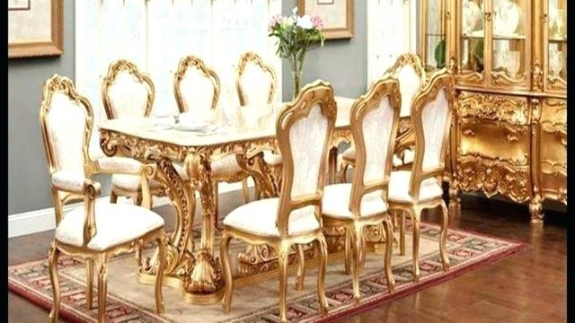 Black Lacquer Dining Room Furniture High End Dining Room Furniture Inside Royal Dining Tables (Image 5 of 25)