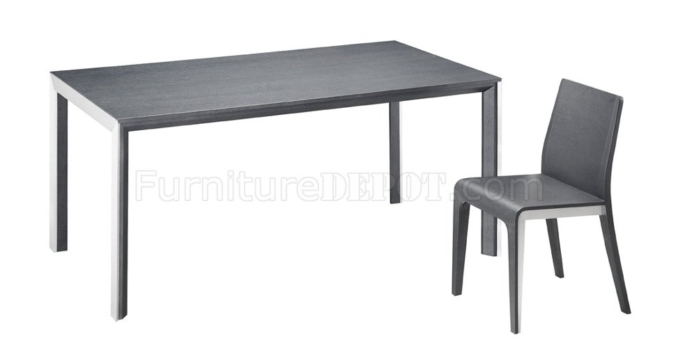 Black Or White Glass Top Dining Table With Brushed Steel Frame In Brushed Steel Dining Tables (Image 3 of 25)