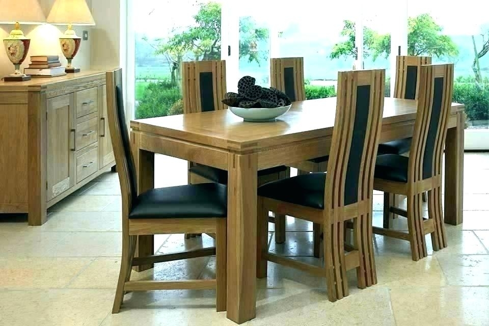 Black Round Dining Table And Chairs – Buzzvira within Dining Tables and 6 Chairs