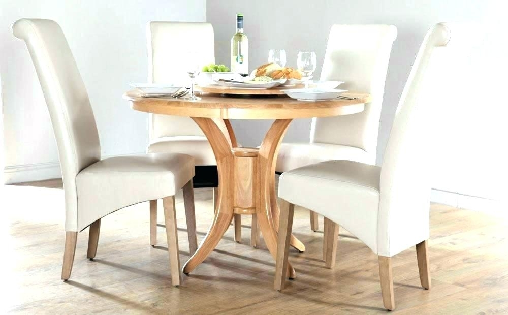 Black Round Dining Table Set Round Faux Marble Dining Table Faux Within Circular Dining Tables For  (Image 1 of 25)