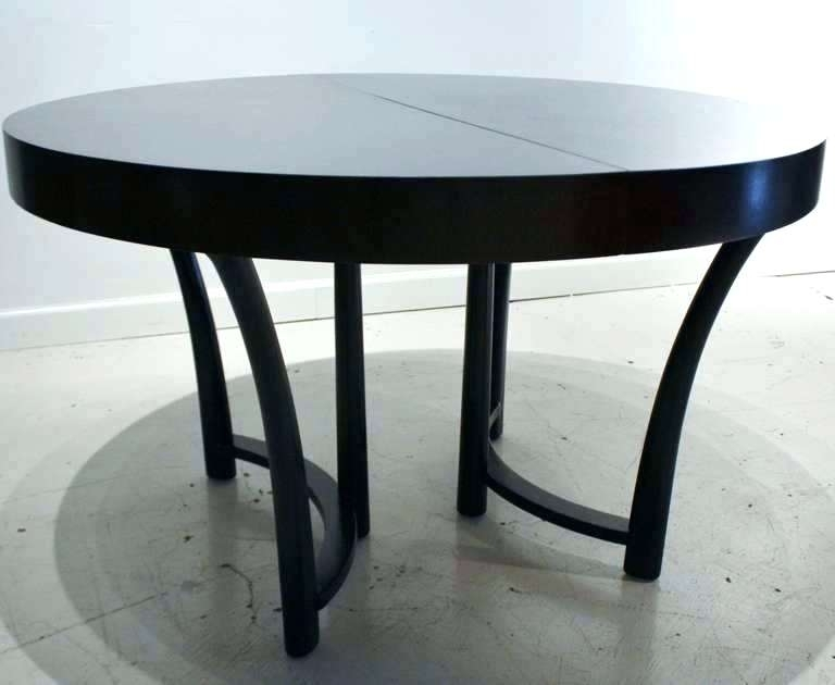 Black Round Dining Table Set Square Or Round Expandable Dining Table Intended For Dark Round Dining Tables (Image 8 of 25)