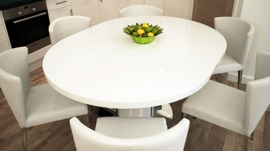 Black Round Dining Table With Leaf Square Extension Dining Table Within Large White Round Dining Tables (View 6 of 25)