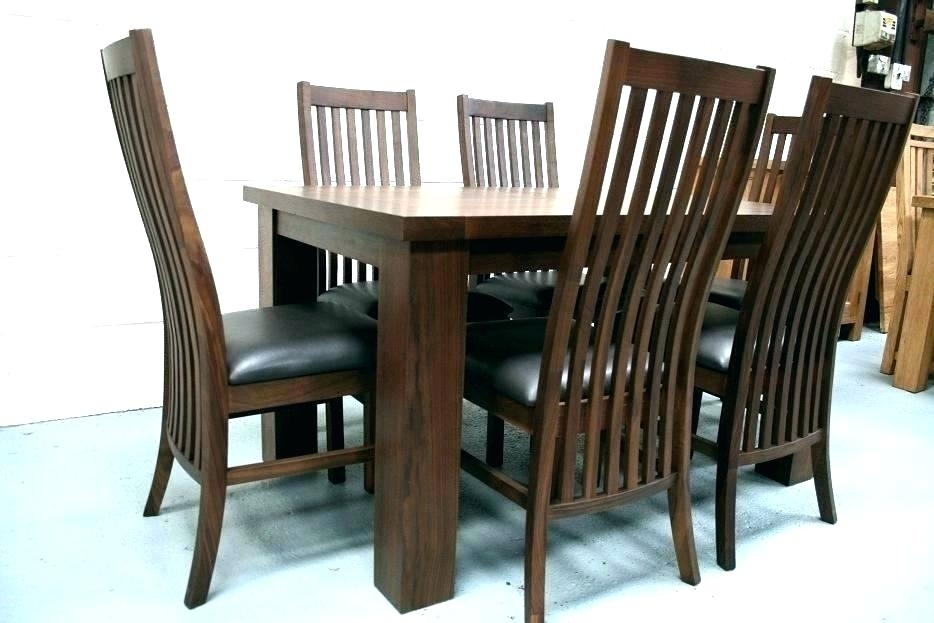 Black Walnut Dining Room Table Antique Chairs Legs And Adorable Inside Walnut Dining Table Sets (Image 5 of 25)