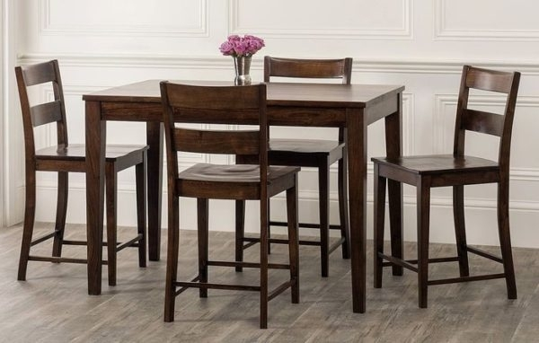 Bloomsbury Market | Gambino 5 Piece Counter Height Dining Set Regarding Market 5 Piece Counter Sets (View 2 of 25)