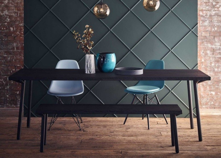 Blu Dot Branch Dining Table Black Stain | Heal's With Regard To Black Dining Tables (View 12 of 25)