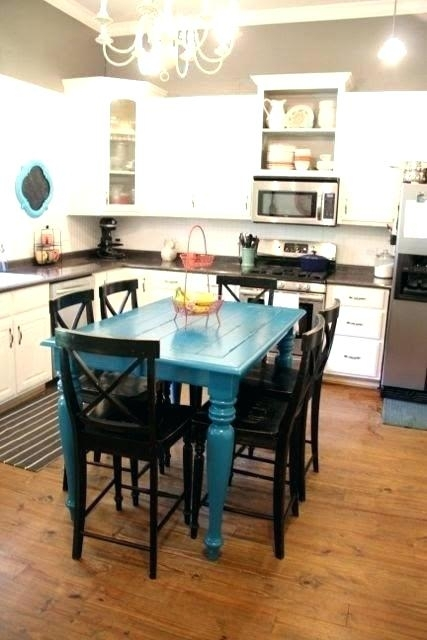 Blue Dining Room Walls – Buxenz With Blue Dining Tables (Image 5 of 25)