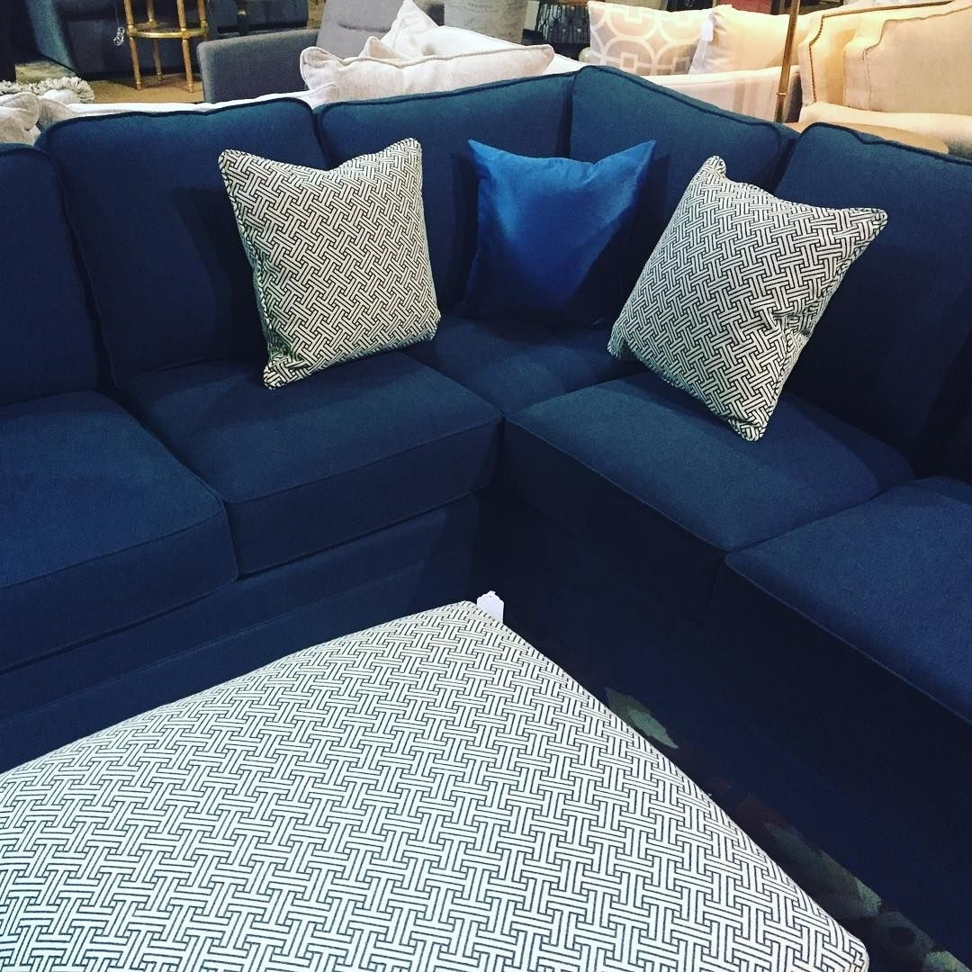 Blue #sectional #sofa | Small Blue Sectional Sofas | Pinterest Within Haven Blue Steel 3 Piece Sectionals (Image 5 of 25)
