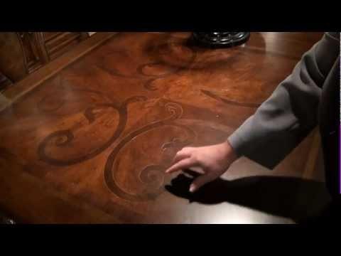 Bolero Rectangular Leg Dining Tableuniversal Furniture | Home With Universal Dining Tables (Image 6 of 25)