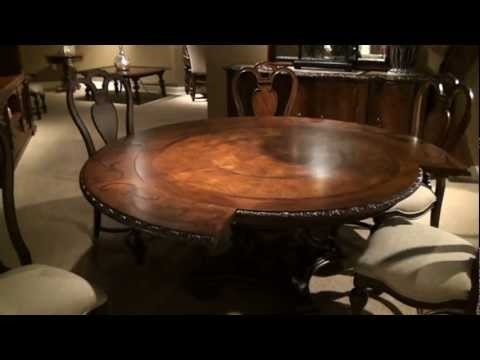 Bolero Seville Round Pedestal Dining Tableuniversal Furniture Within Universal Dining Tables (Image 7 of 25)