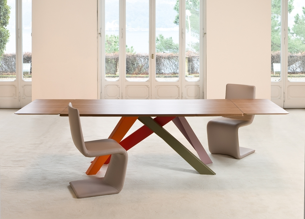 Bonaldo Big Extending Table | Bonaldo Big Table At Go Modern London For Dining Tables London (Image 2 of 25)