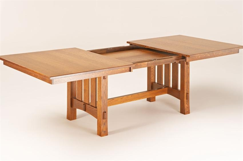 Bontrager Dining Collection For Craftsman Rectangle Extension Dining Tables (View 2 of 25)