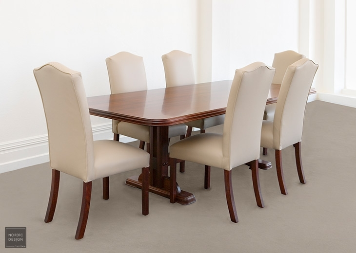 Bordeaux | Regent – Nordic Design Inside Bordeaux Dining Tables (Image 2 of 25)