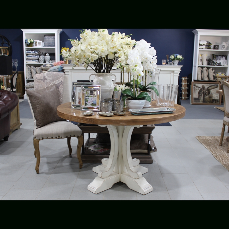 Bordeaux Round 120Cm Dining Table – Luxe Home Interiors Within Bordeaux Dining Tables (View 4 of 25)