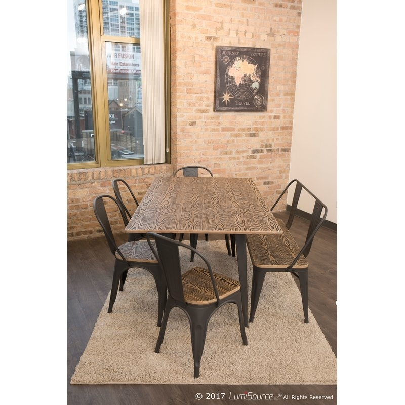 Borough Wharf Victor Dining Table | Wayfair.co (View 24 of 25)