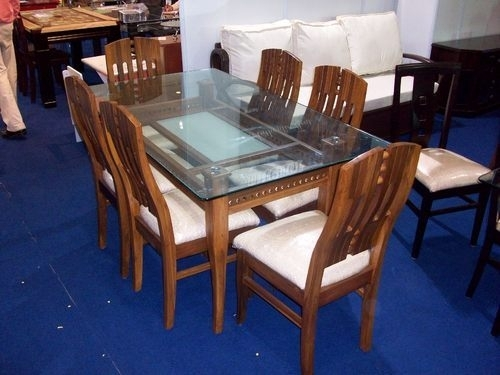 Boss 6 Seater Dining Table At Rs 22500 /set | Wooden Dining Table Throughout 6 Seater Dining Tables (Image 8 of 25)