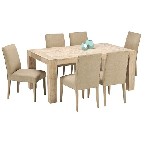 Boston Elm Dining Table & Chairs Set | Temple & Webster Intended For Dining Table Chair Sets (Image 4 of 25)