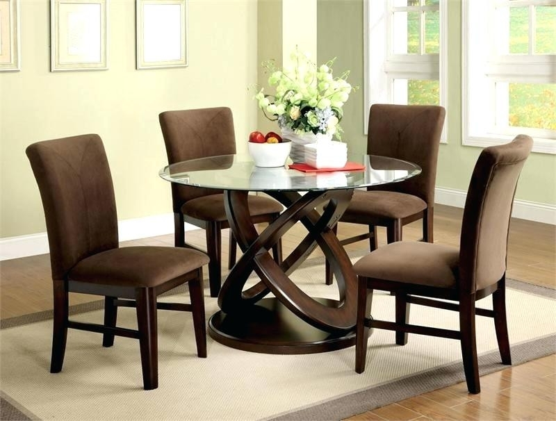 Bradford Dining Room Furniture Collection Round Dining Room Sets Inside Bradford Dining Tables (Image 6 of 25)