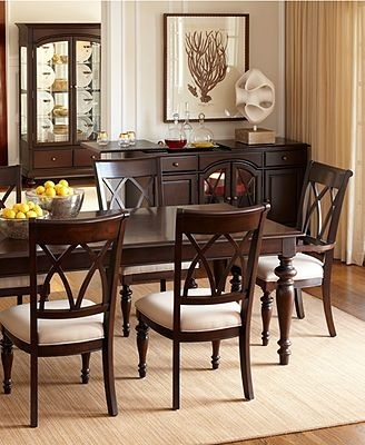Bradford Dining Room Furniture Collection Round With Four Chairs Inside Bradford Dining Tables (Image 7 of 25)
