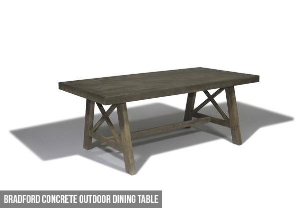 Bradford Outdoor Dining Set • Grabone Nz Inside Bradford Dining Tables (View 22 of 25)