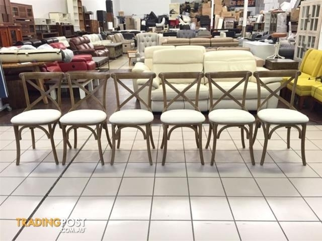 Brand New Tivachi Dining Chairs (Set Of 6) For Sale In Logan Central Throughout Logan 6 Piece Dining Sets (Image 4 of 25)