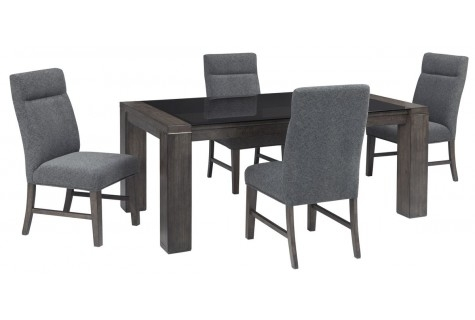 Brands : Chansey And Tod, Collection: Chansey, Collection: Tod For Palazzo 9 Piece Dining Sets With Pearson White Side Chairs (Image 14 of 25)