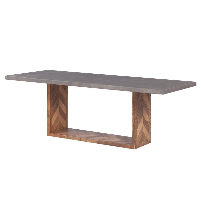Brayden Studio Dickman Mixed Dining Table & Reviews | Wayfair Inside Norwood 6 Piece Rectangle Extension Dining Sets (Image 4 of 25)