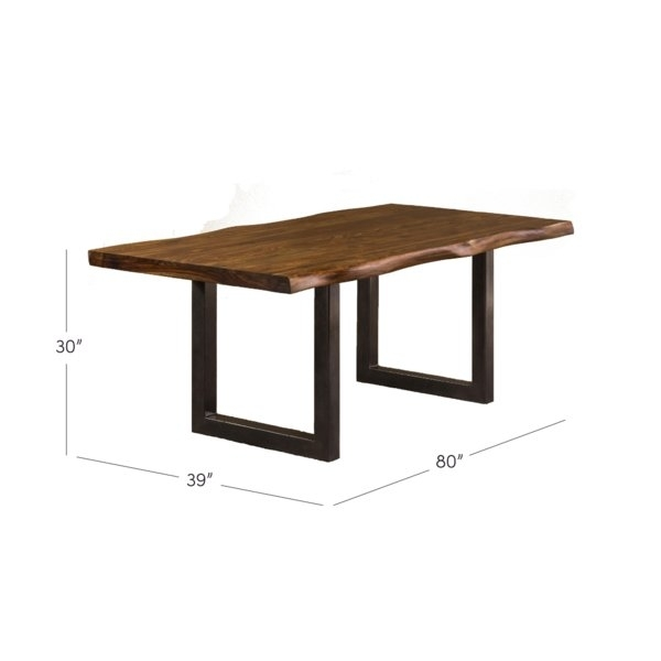 Brayden Studio Linde Dining Table & Reviews | Wayfair Within Lindy Espresso Rectangle Dining Tables (View 20 of 25)