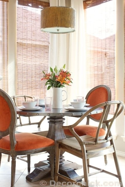 Breakfast Room Updates With New Table And Chairs | Www.decorchick In Cooper Dining Tables (Photo 16 of 25)