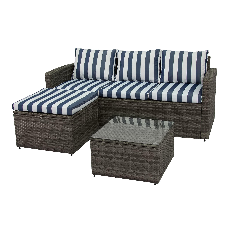 Breakwater Bay Ridgemoor 3 Piece Sofa Set With Cushions & Reviews In Karen 3 Piece Sectionals (Image 5 of 25)