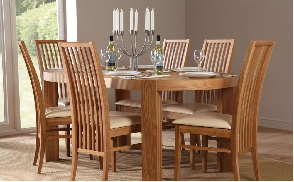 Breathtaking Extending Oak Dining Table With 4 Chairs Flintshire Regarding Glass And Oak Dining Tables And Chairs (Image 3 of 25)