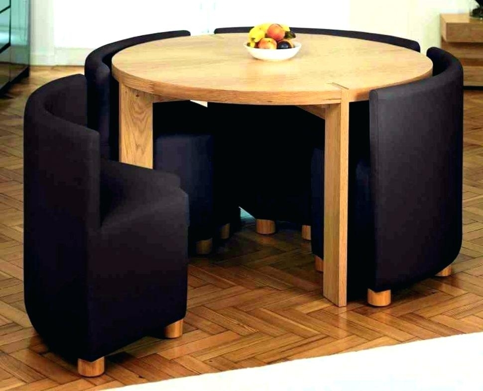Bright Inspiration Folding Dining Table And Chair Sets Small Set Regarding Folding Dining Table And Chairs Sets (Image 1 of 25)