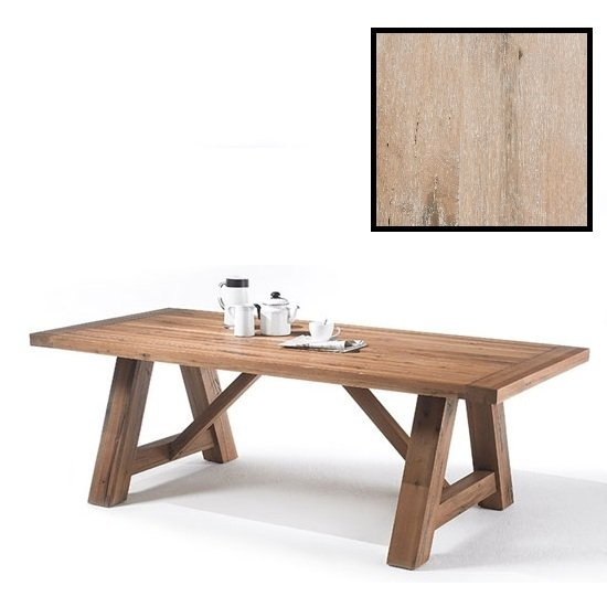 Bristol 180Cm Dining Table In Solid White Oak With 4 Legs Regarding 180Cm Dining Tables (Image 5 of 25)