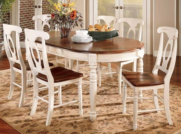 Brittany Dining Table | Passport Furnishings With Regard To Brittany Dining Tables (Image 6 of 25)