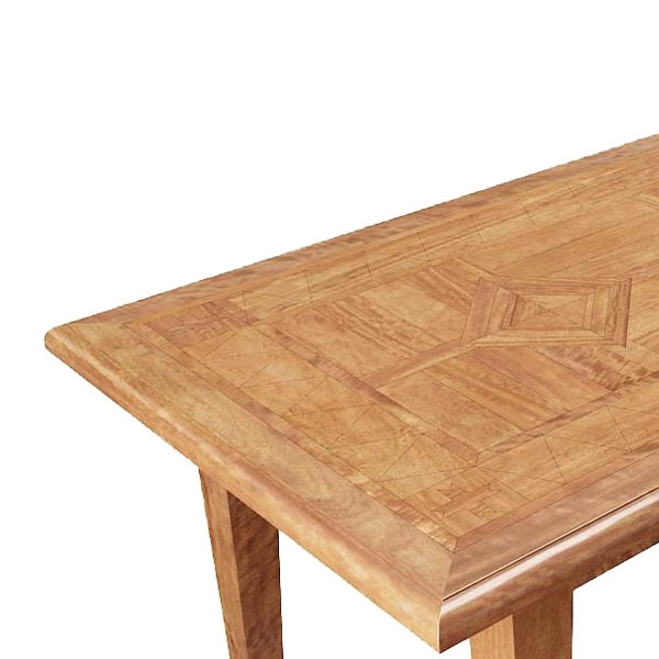 Brittany Parquetry 220X100Cm Dining Table Regarding Brittany Dining Tables (Image 15 of 25)