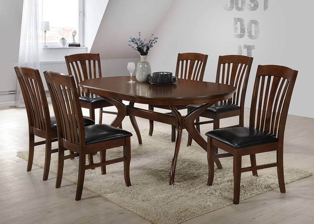 Brittany Set With 6 Chairs | Dining Tables Regarding Brittany Dining Tables (Image 17 of 25)
