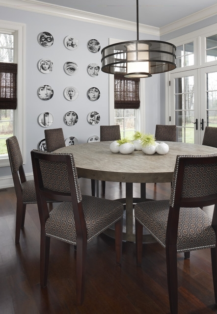 Brookdale Nook – Contemporary – Dining Room – Detroit  Amw Intended For Chapleau Ii 9 Piece Extension Dining Tables With Side Chairs (Image 2 of 25)