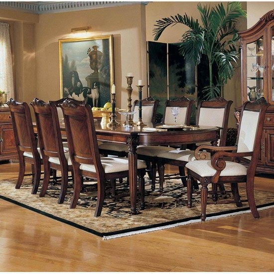 Broyhill Dining Room Furniture |  Dining Room Furniture Formal Within Norwood 7 Piece Rectangular Extension Dining Sets With Bench & Uph Side Chairs (Image 4 of 25)